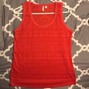 Pretty Red summer sportswear tank